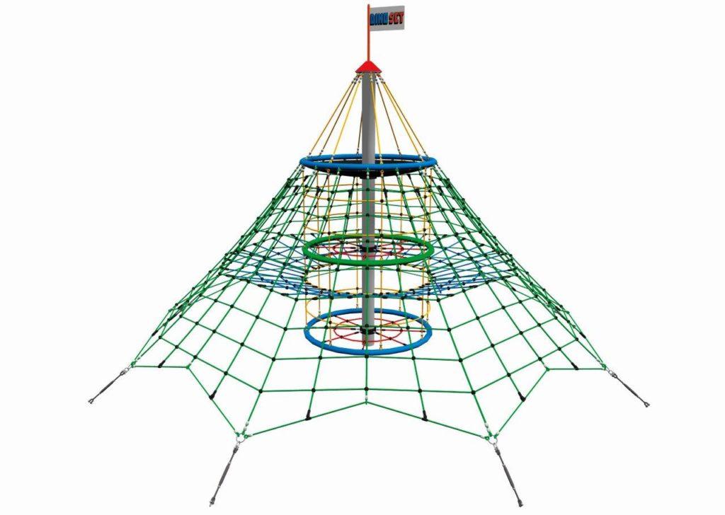 Seilpyramide Dino Set 2